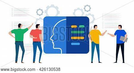 Ai Artificial Intelligence Cyborg Head Learning Machine Programming Script Coding Technology Develop