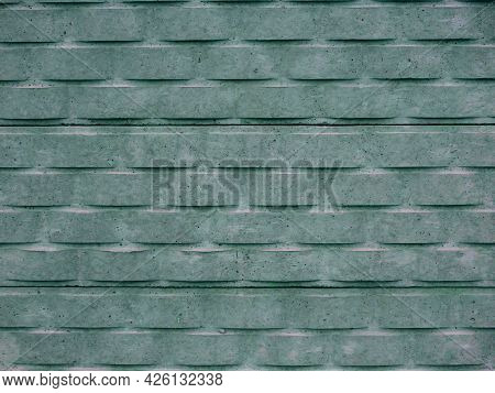 Cemented Brick Texture Background For Commercial Presentation.