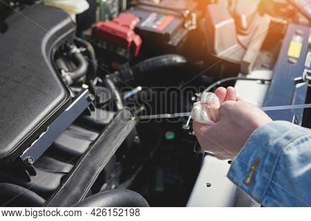 Oil Car Maintenance Theme