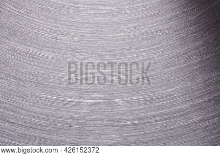 Silver Iron Brushed Metal Surface
