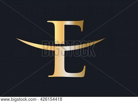 E Letter Logo. Initial E Letter Business Logo Design Vector Template. Modern E Logo Design
