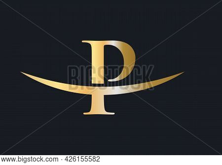 Initial Monogram Letter P Logo Design Vector. P Logo Design
