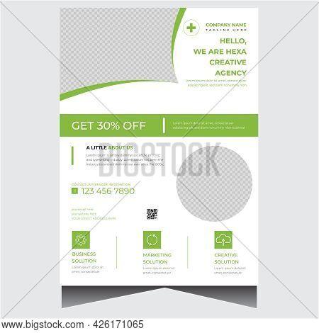Modern White Creative Business Flyer Design Template