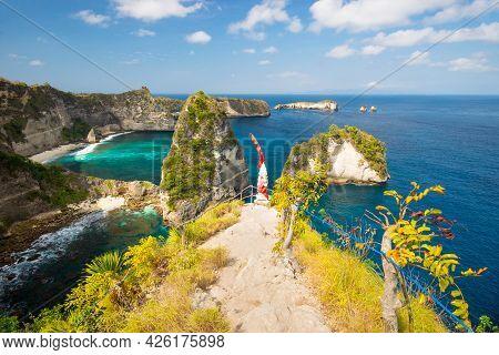 Thousand Island Viewpoint - Nusa Penida, Indonesia, Bali.