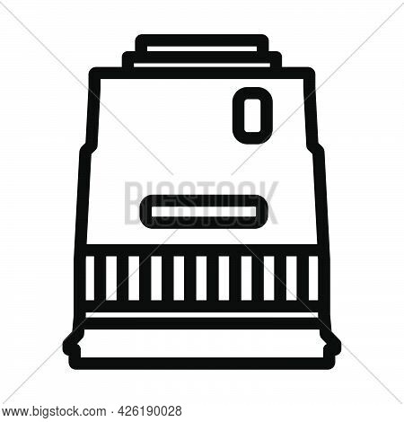 Icon Of Photo Camera Wide Lens. Bold Outline Design With Editable Stroke Width. Vector Illustration.
