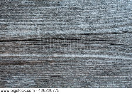 Natural Gray Weathered Wood Plank Texture Background. Wooden Floor Texture, Gray Wood, Large Boards,