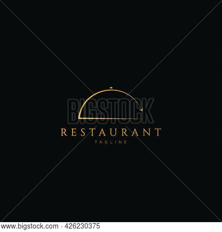 Unique And Luxurious Restaurant Logo Design With An Attractive And Attractive Appearance