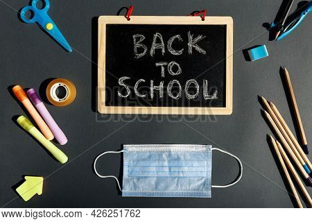 E- Learning, Online Education, School Stationery Supplies, Medical Mask, Social Distancing, School R