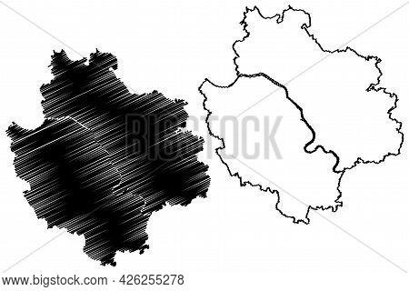 Deggendorf District (federal Republic Of Germany, Rural District Lower Bavaria, Free State Of Bavari