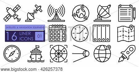 Navigation Equipment, Satellite Communications, Gps Positioning Technologies. Satellites, Wireless T