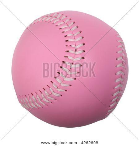 Pink Baseball