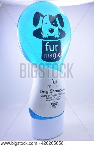 Manila, Ph - July 7 - Fur Magic Dog Shampoo Madre De Cacao, Neem And Aloe Vera Oil Extract On July 7