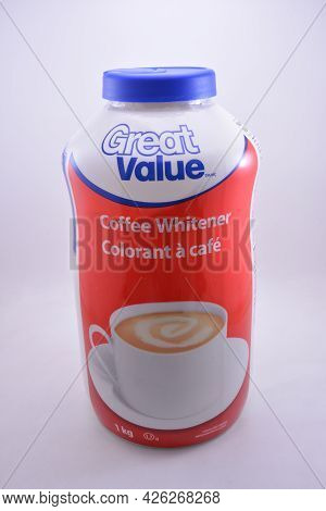 Manila, Ph - July 9 - Great Value Coffee Creamer On July 9, 2021 In Manila, Philippines.