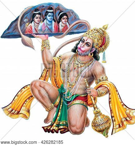 Browse High Resolution Stock Images Of Lord Hanuman