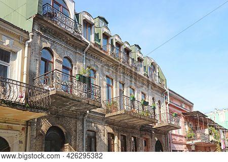 Group Of Gorgeous Buildings In Downtown Batumi, Adjara Region, Georgia