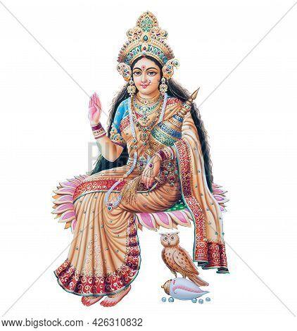 Hindu Cosmos Maha Laxshmi, Goddess Of Wealthkolkata, West Bengal, India