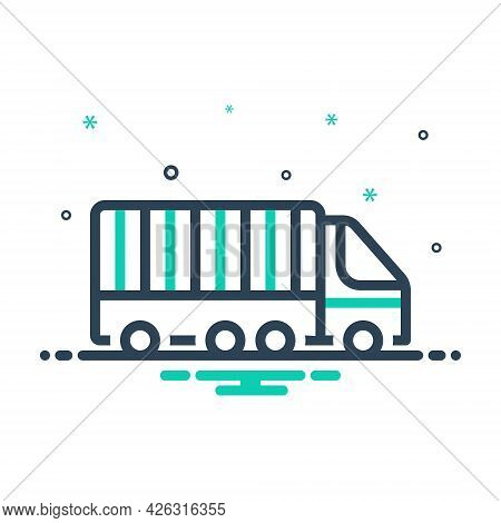 Mix Icon For Freight-transport Freight Transport Container Lorry Storage Cargo Terminal