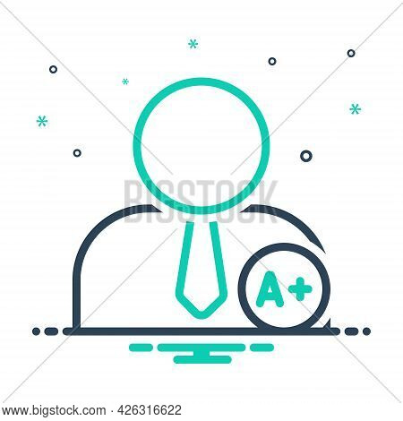 Mix Icon For Matriculate Add People Grade Secondary