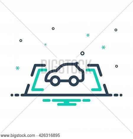 Mix Icon For Parking-sensor Parking Sensor Safeness Vehicle Stabilizer Autonomous Camera