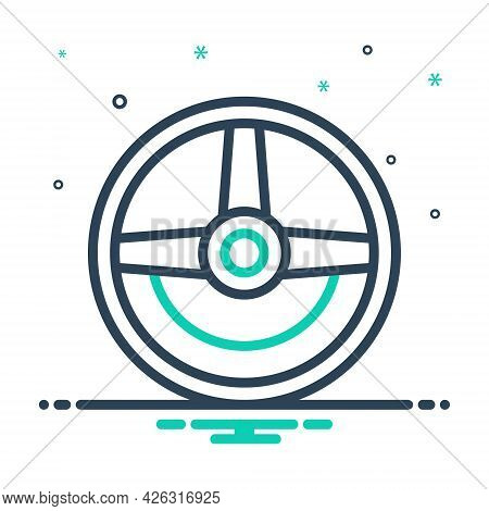 Mix Icon For Steering Wheel Automobile Transportation Vehicle Drive Car Accessories