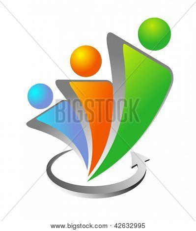 An illustration of vector social media icon