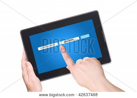 Electronic Notebook Pc And Password