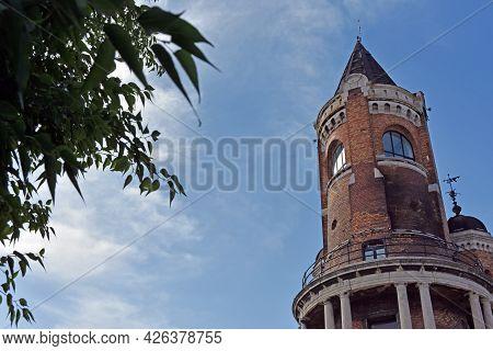 The Gardoš Tower Which Also Known As Millennium Tower Or Kula Sibinjanin Janka. Gardos Is A Memorial