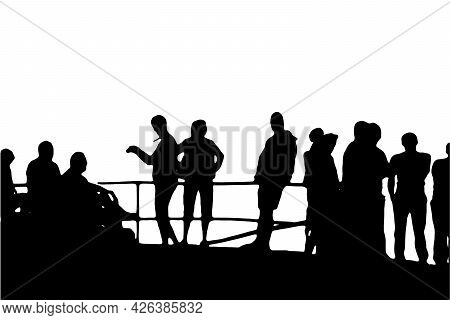 Business People Silhouette Set Of 12 Unique High-detailed Silhouettes Featuring Beautiful Models