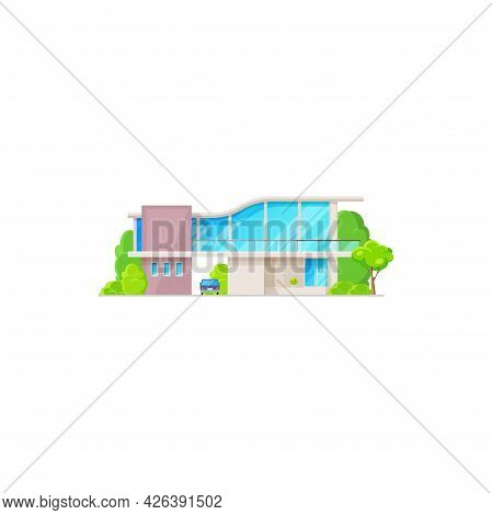 Modern Villa, Townhouse Residence, Apartment On Sale Or Rent, Luxury Dwelling. Country House Outdoor