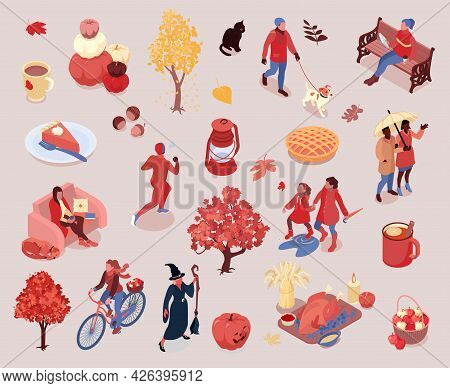 Autumn Fall Apples Pumpkin Harvesting Thanksgiving Halloween Attributes Cycling Walking Jogging Cosy