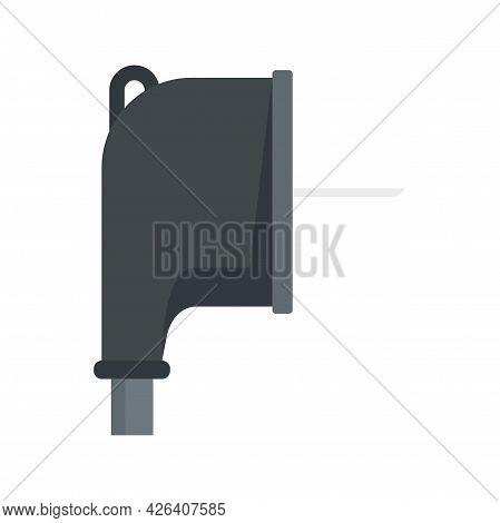 Europe Plug Icon. Flat Illustration Of Europe Plug Vector Icon Isolated On White Background