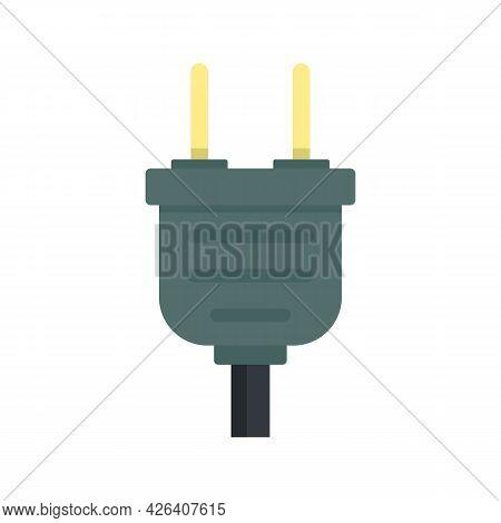 Plug Icon. Flat Illustration Of Plug Vector Icon Isolated On White Background