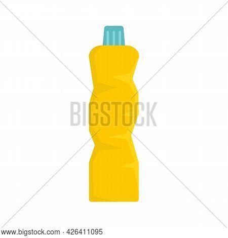 Garbage Cleaner Bottle Icon. Flat Illustration Of Garbage Cleaner Bottle Vector Icon Isolated On Whi