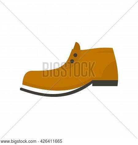 Garbage Shoe Icon. Flat Illustration Of Garbage Shoe Vector Icon Isolated On White Background