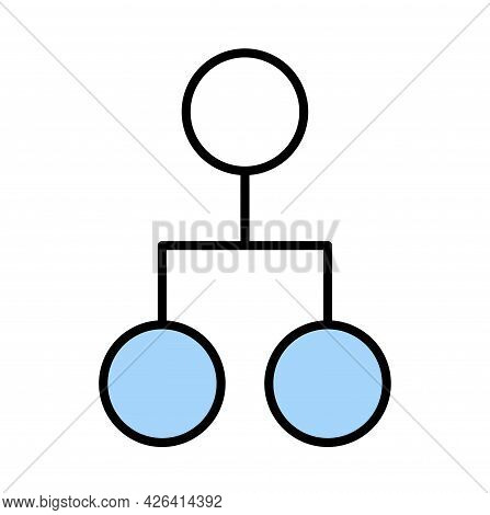 Organization Icon, Teamwork Group, People Work Together, Partnership Symbol, Vector Illustration Iso