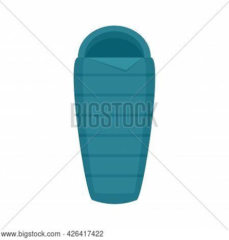 Activity Sleeping Bag Icon. Flat Illustration Of Activity Sleeping Bag Vector Icon Isolated On White