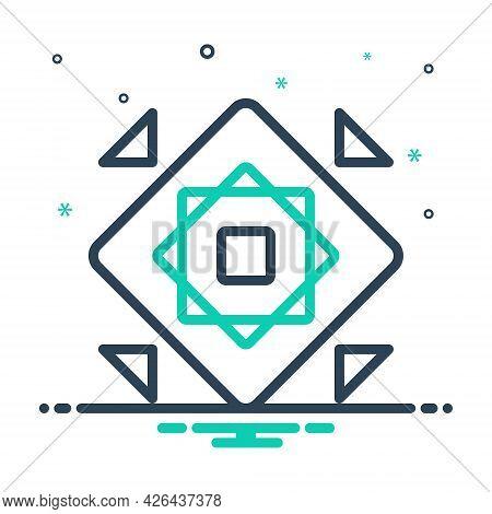 Mix Icon For Modularize Modular Structure Organization Marketing  Design  Development