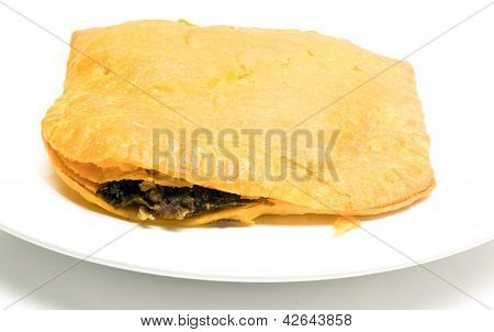 Jamaican  Beef Pattie Patty Fried Pastry Food