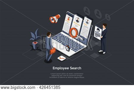 Vector Composition On Employee Search Process, Hiring On Job Vacancy, Candidate Selection And Interv