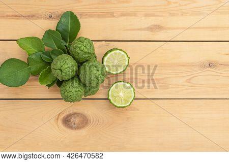 Bergamot Is A Plant In The Genus Citrus. Originated In Laos, Indonesia, Malaysia And Thailand In Sou