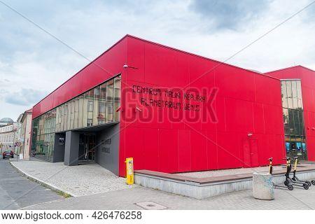 Zielona Gora, Poland - June 1, 2021: Copernicus Science Centre, Planetarium Venus.