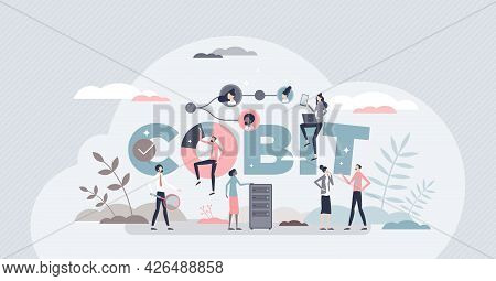 Cobit Or Control For Objectives Information Technologies Tiny Person Concept. Standard Framework And