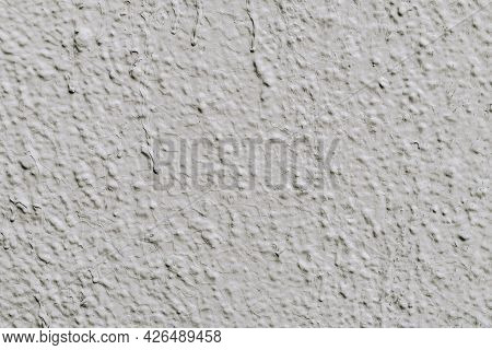 Gray Plaster, Concrete Wall, Texture, Natural Background