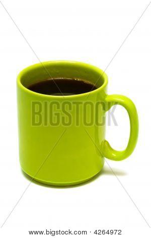 Green Mug From Coffee