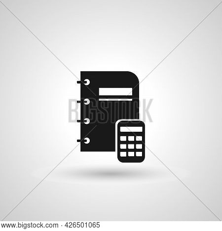 Accounting Sign. Accounting Isolated Simple Vector Icon