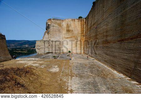 The Abandoned Stone Quarry Of Monteleone Rocca Doria