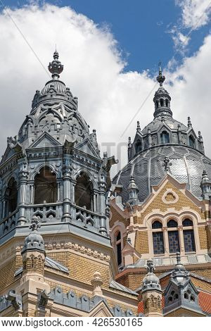 Jewish Synagogue Temple Building In Szeged Hungary