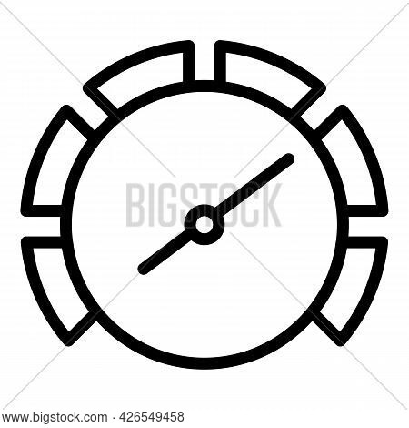 Car Speed Icon Outline Vector. Sport Vehicle. Car Auto Speed