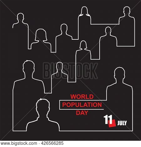 The Calendar Event Is Celebrated In July - Population Day