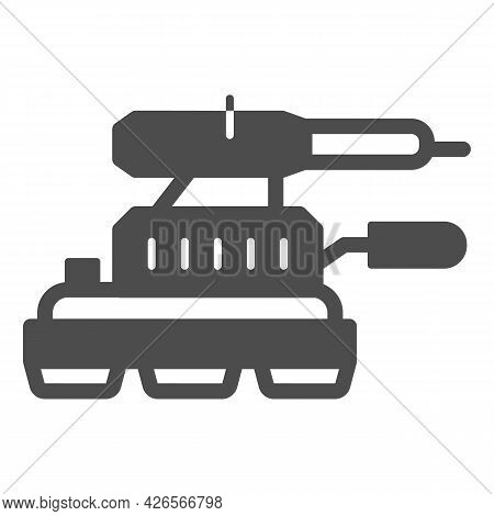 Grinding Machine Solid Icon, Construction Tools Concept, Angle Grinder Vector Sign On White Backgrou